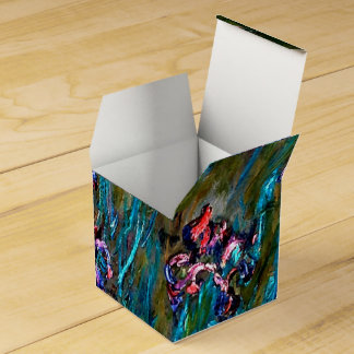 Monet - Irises and Water Lilies Favour Box