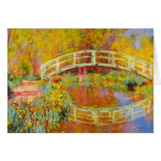 Monet Japanese Bridge Note Card