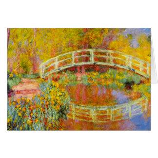 Monet Japanese Bridge Note Card