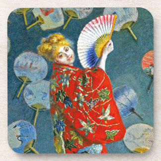 Monet - Japanese Costume - La Japonaise Coaster