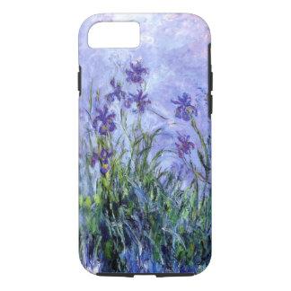 Monet Lilac Irises iPhone X/8/7 Tough Case