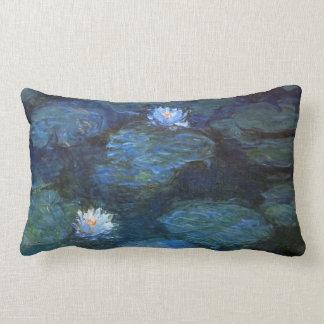 Monet Nympheas Lumbar Pillow