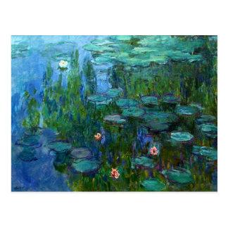 Monet Nympheas Water Lilies Postcard