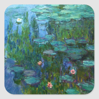 Monet Nympheas Water Lilies Stickers