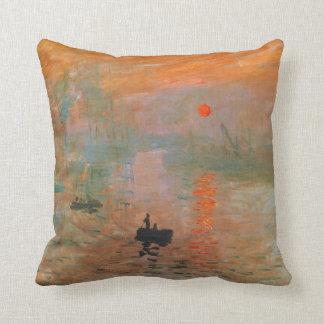 Monet Painting Pillows