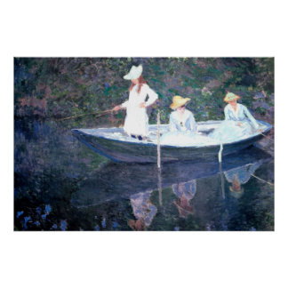 Monet Painting Posters