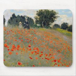 Monet Poppies Mousepad