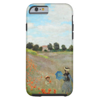 Monet Poppy Field Tough iPhone 6 Case