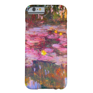 Monet Purple Water Lilies iPhone 6 case