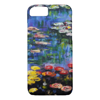 Monet Purple Water Lilies iPhone 7 case