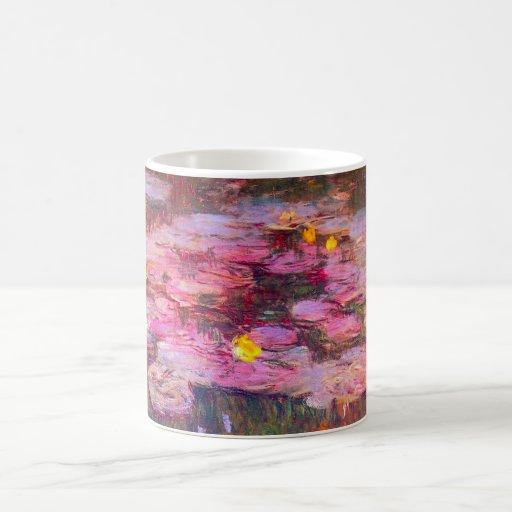 Monet Purple Water Lilies Mug