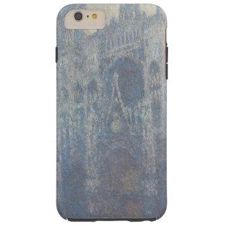 Monet Rouen Cathedral Portrait iPhone Case