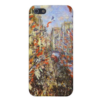 Monet, Rue Montorgueil iPhone 5 Cases