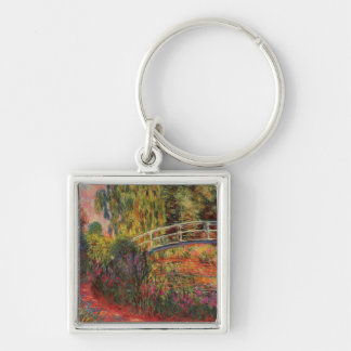 Monet's Water Lily Pond Key Ring