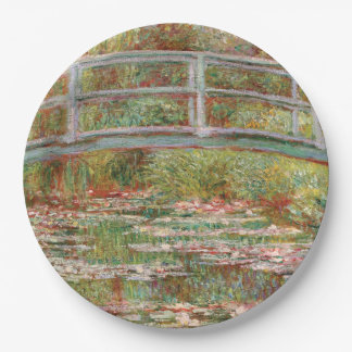 Monet's Water Lily Pond Paper Plate