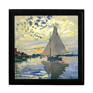 Monet - Sailboat at Le Petit-Gennevilliers Gift Box