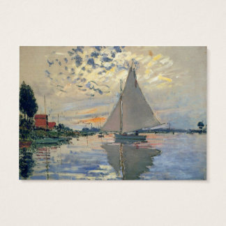 Monet Sailboat French Impressionist