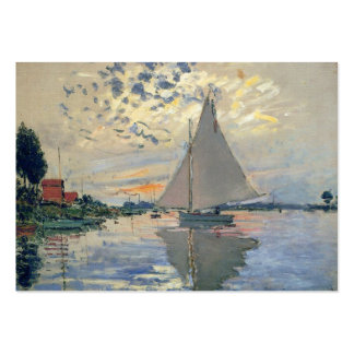 Monet Sailboat French Impressionist Business Card