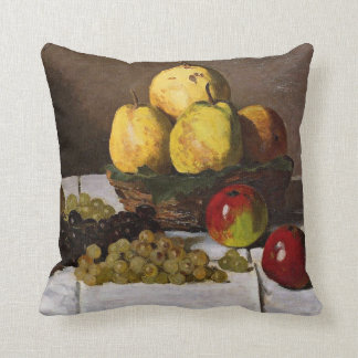 Monet - Still Life with Pears and Grapes Cushion