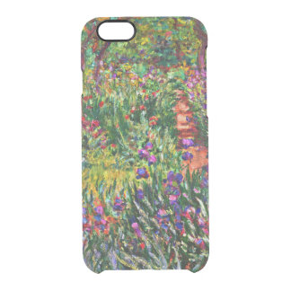 Monet - The Iris Garden at Giverny Clear iPhone 6/6S Case