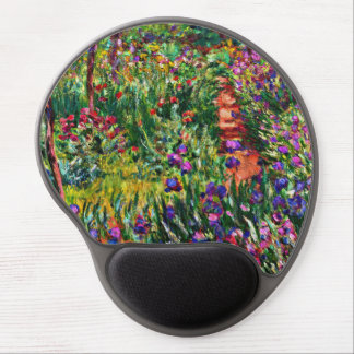 Monet - The Iris Garden at Giverny Gel Mouse Pad
