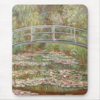 Monet: The Japanese Bridge Mouse Pad