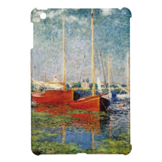 Monet - The Red Boats Argenteuil iPad Mini Cases