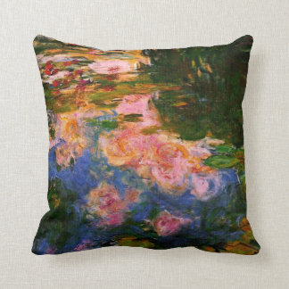 Monet - The Water Lily Pond, 1919 Cushion