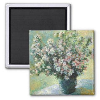 Monet Vase of Flowers Fine Art Magnet Magnet