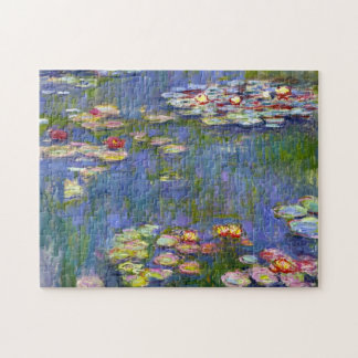 Monet Water Lilies 1916 Jigsaw Puzzle