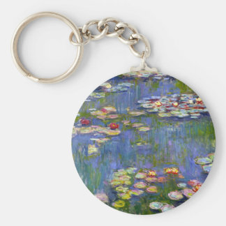 Monet Water Lilies 1916 Key Chain