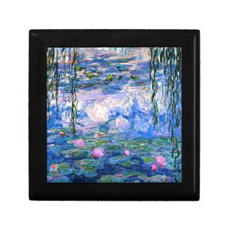 Monet - Water Lilies, 1919 artwork Gift Box