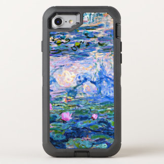 Monet - Water Lilies 1919 OtterBox Defender iPhone 8/7 Case