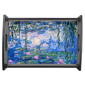 Monet - Water Lilies, 1919 Serving Tray