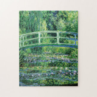 Monet Water Lilies and Japanese Bridge Fine Art Jigsaw Puzzle