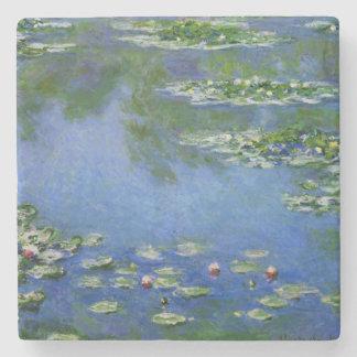 Monet Water Lilies Fine Art (1906) Stone Coaster