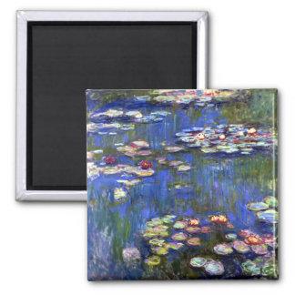 Monet Water Lilies Fridge Magnet