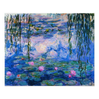 Monet Water Lilies Poster