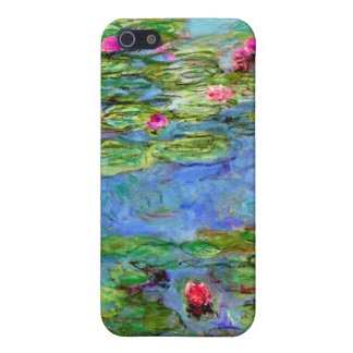 Monet Water Lilies Red Case For The iPhone 5
