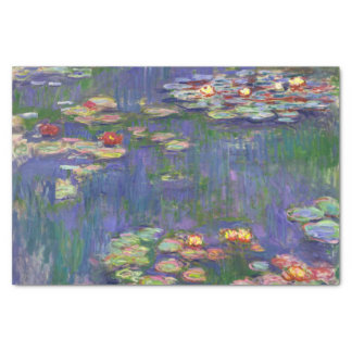 Monet Water lilies Tissue Paper