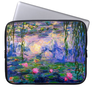 Monet Water Lilies v3 Computer Sleeve