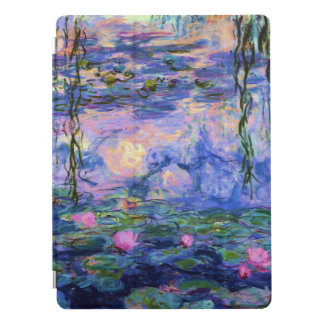 Monet Water Lilies with Pond Reflections iPad Pro Cover