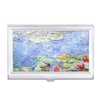 Monet Water Lillies Business Card Holders