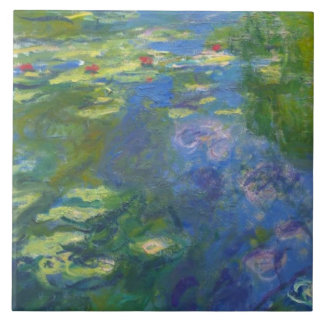 Monet Water Lilly Left Modular Tile