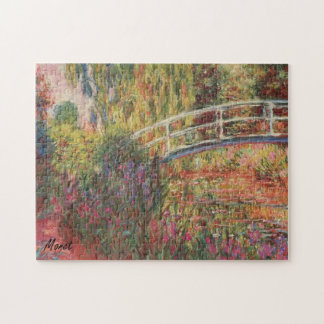 MONET Water Lily Pond 10x14 Puzzle WATER IRISES