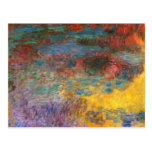 Monet Water Lily Pond Evening Postcard