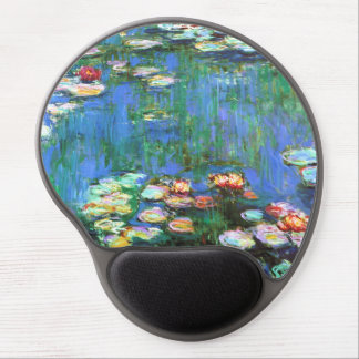 Monet Water Lily Pond Gel Mouse Pad