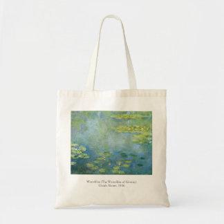 Monet Waterlilies 1906 Painting Tote Bag