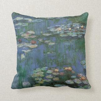 Monet-waterlilies Cushion