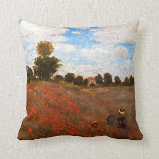 Monet - Wild Poppies Cushion